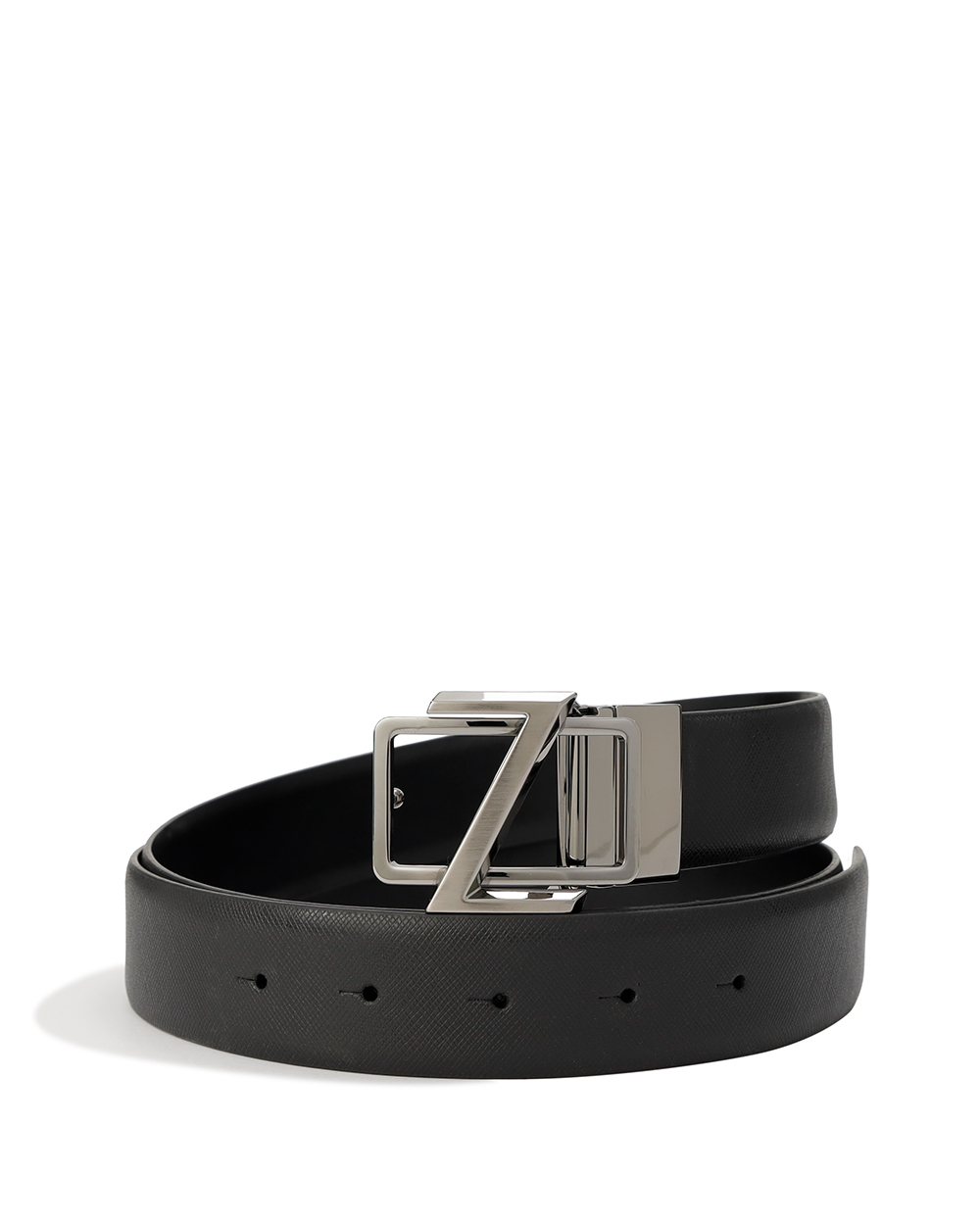 Logo Metal Buckle Belt