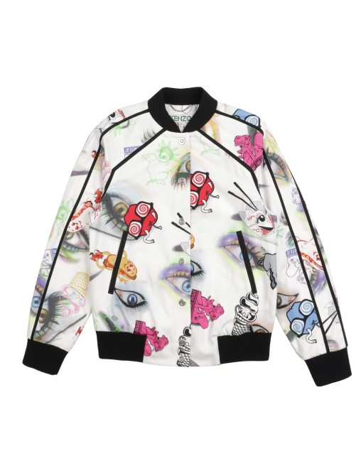 Floral Printed Cotton Jacket