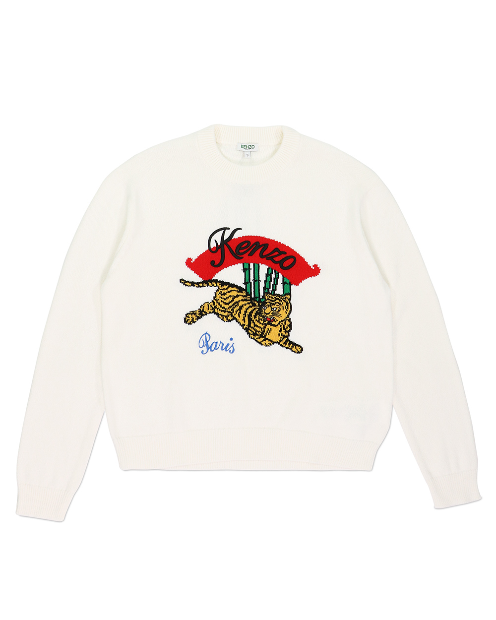 Bamboo Frest Jumping Tiger Sweater