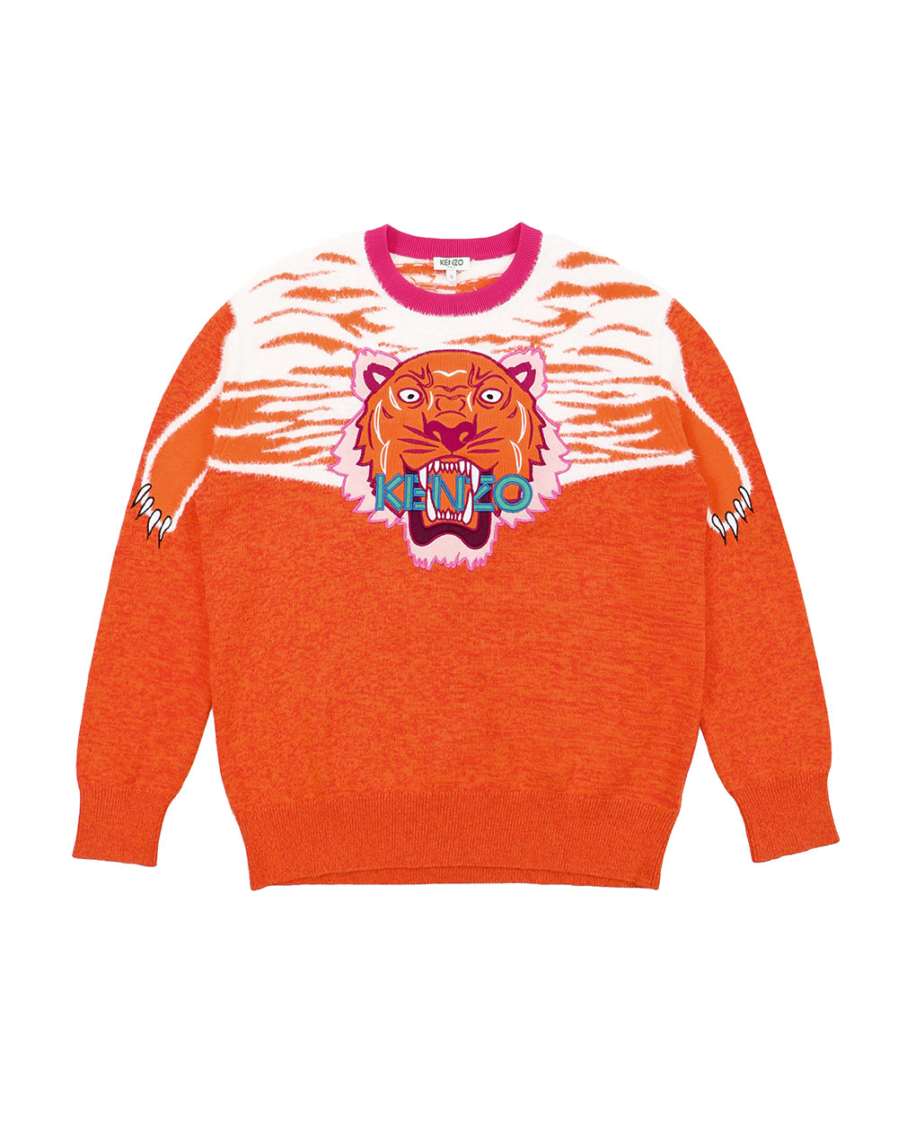 Tiger Pattern Sweater