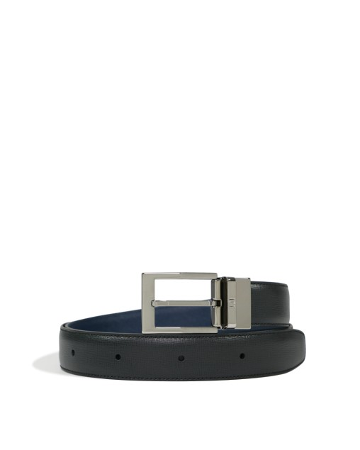 Reversible Black X Navy Belt