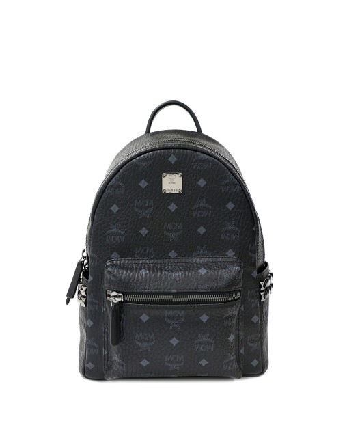Leather and PVC Backpack