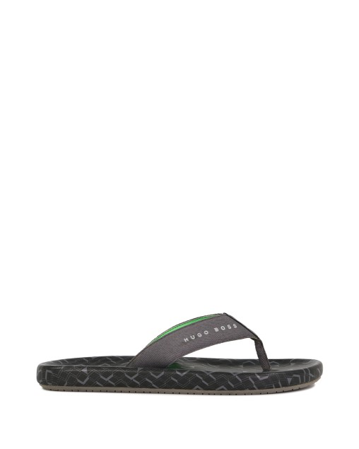 Toe-Separator Sandals with Logo Straps