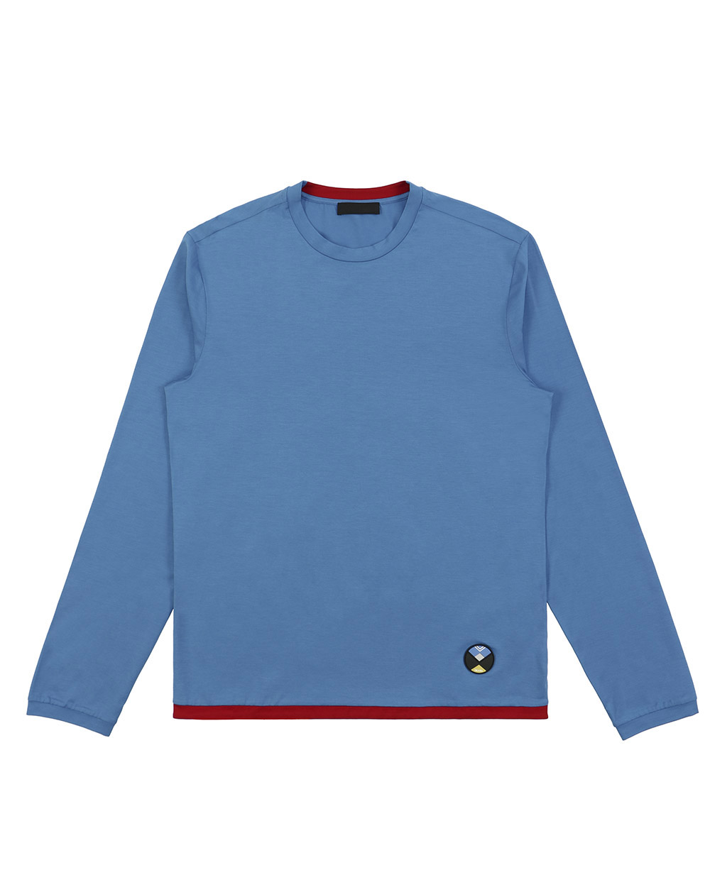 Round Neck Long Sleeves T-Shirt