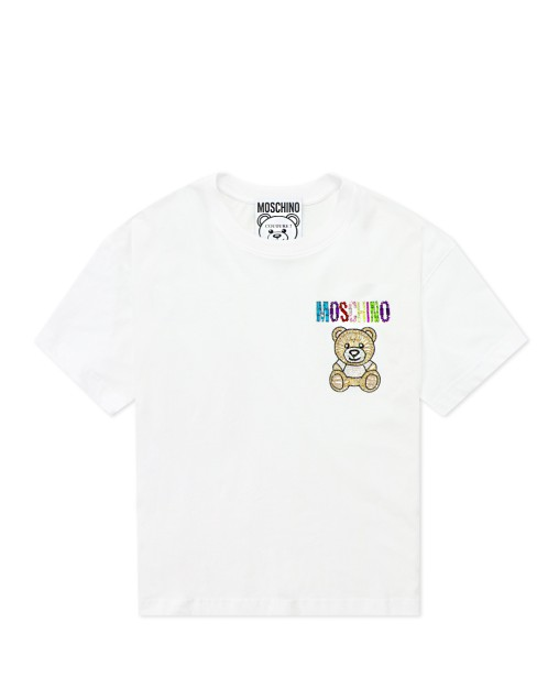 Teddy Embroidery Jersey T-Shirt