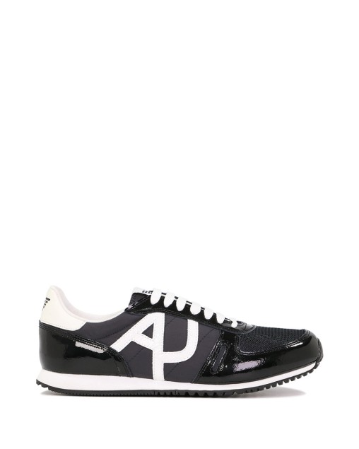 AJ Logo Leather Trainers