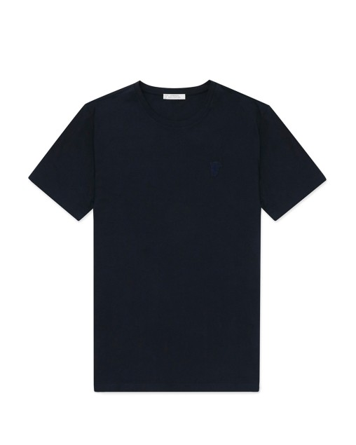 Short Sleeves Round Neck Cotton T-Shirt