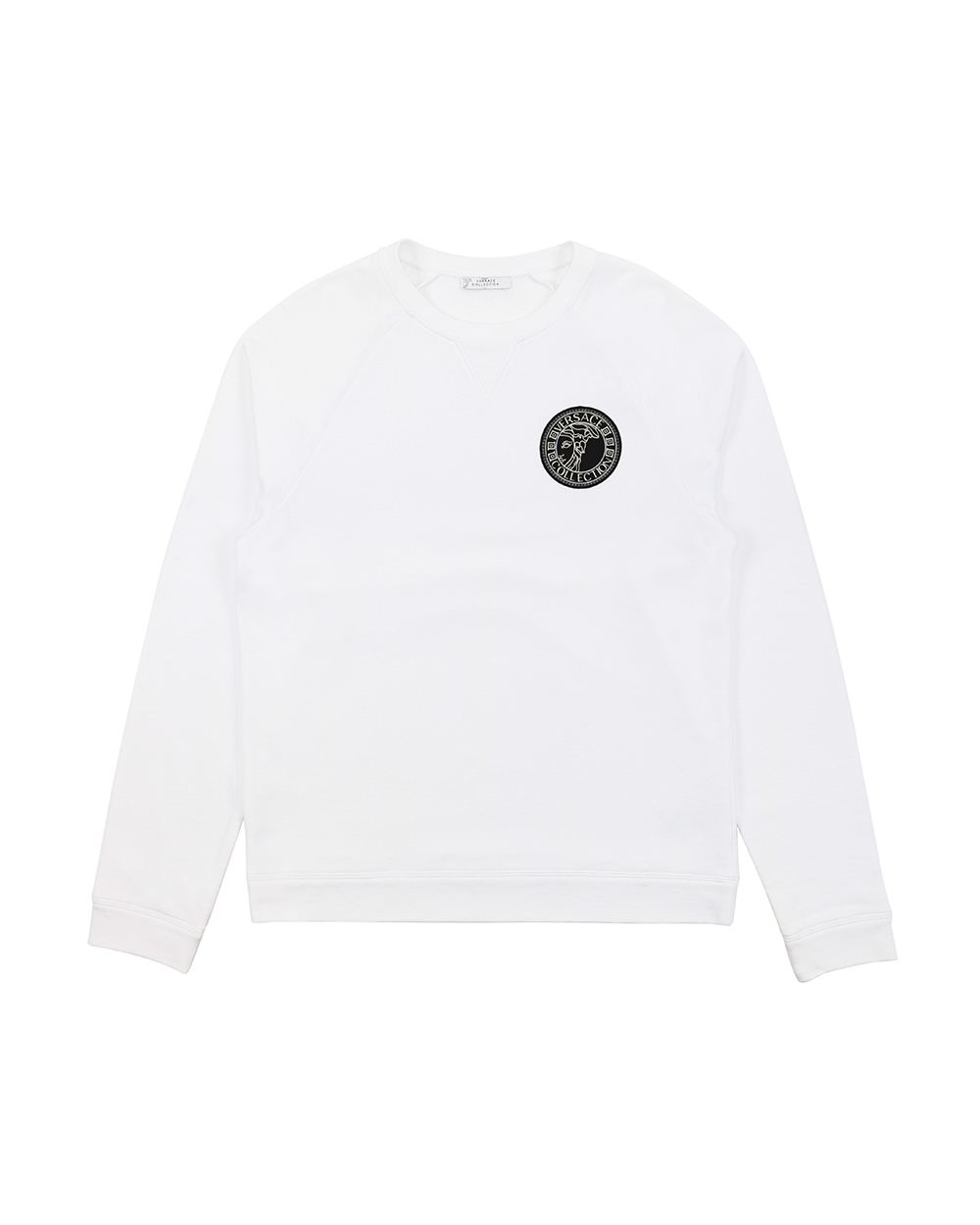 Cotton Crew Neck Long Sleeves Sweatshirt