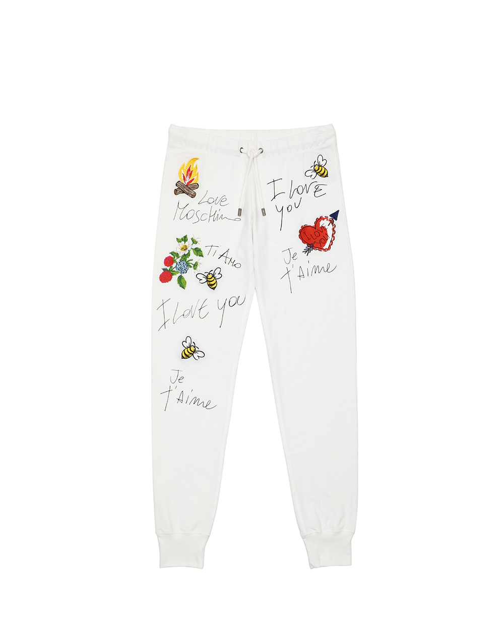 Love Moschino Embroide Track Pants