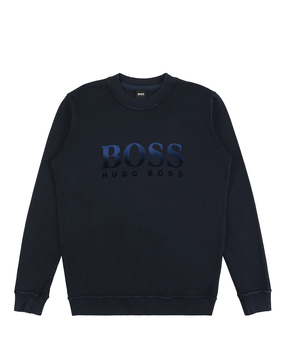 Logo Crew Neck Long Sleeve Sweatshirt