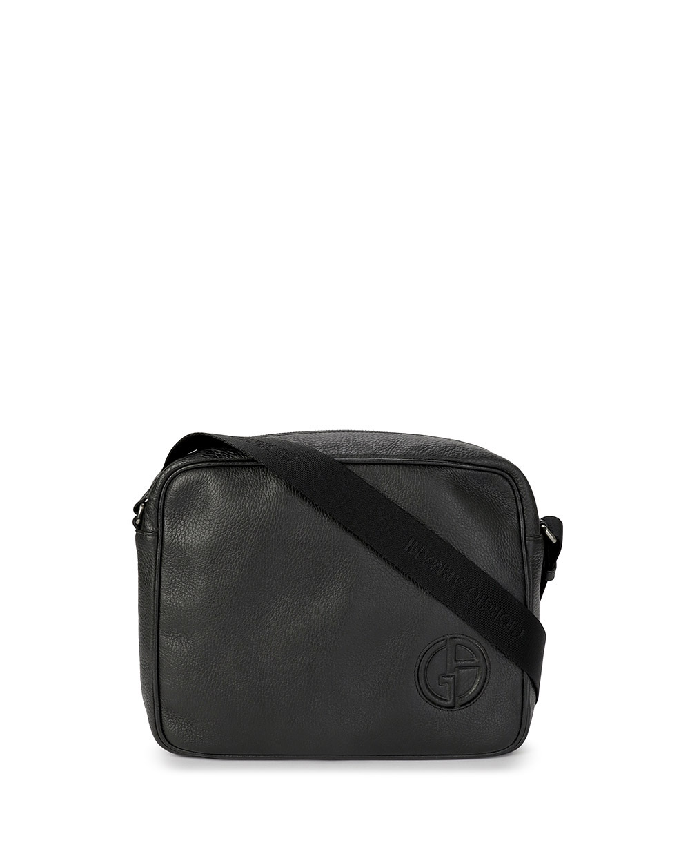 Logo Leather Crossbody Bag