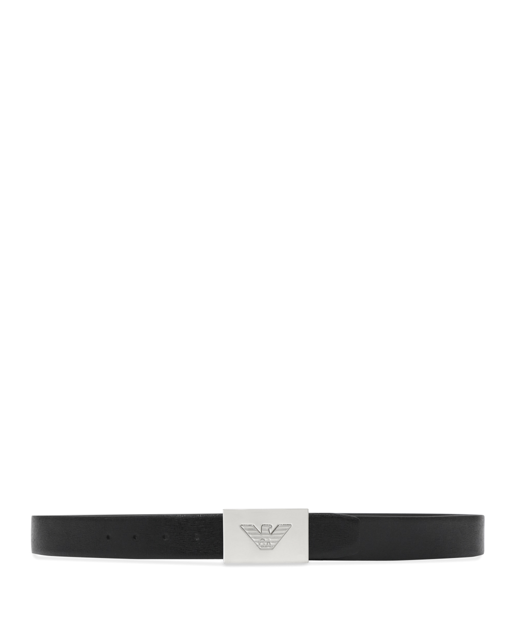 Leather Plate Buckle Belt