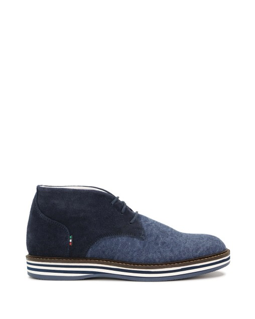 High-Top Pointed Oxford Shoes