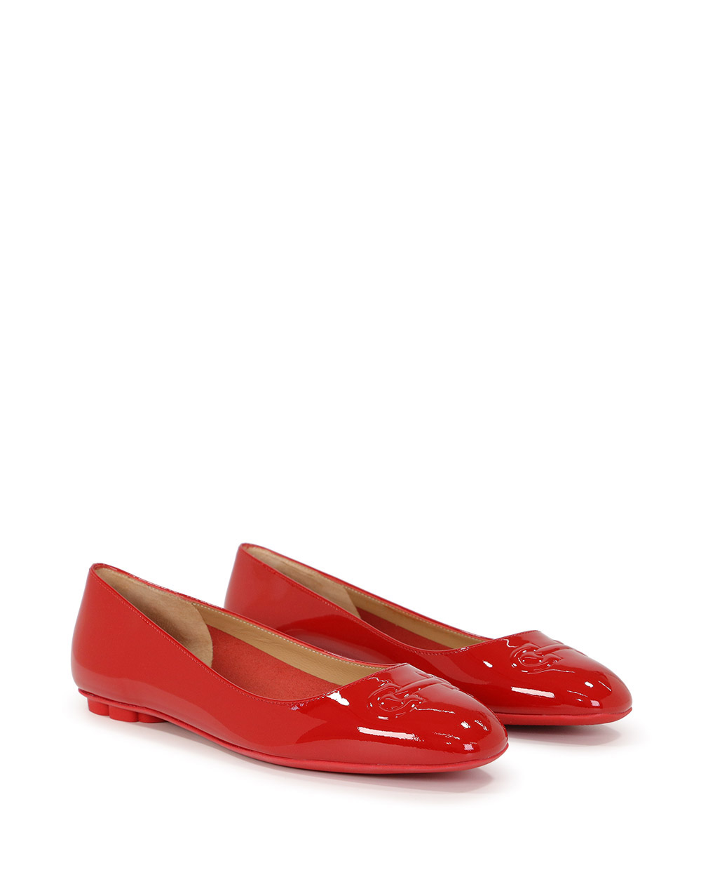 BRONI Patent Leather Casual Flats 1