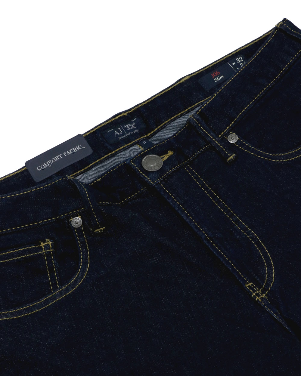 Cotton Stretch Slim-Fit Jeans 2