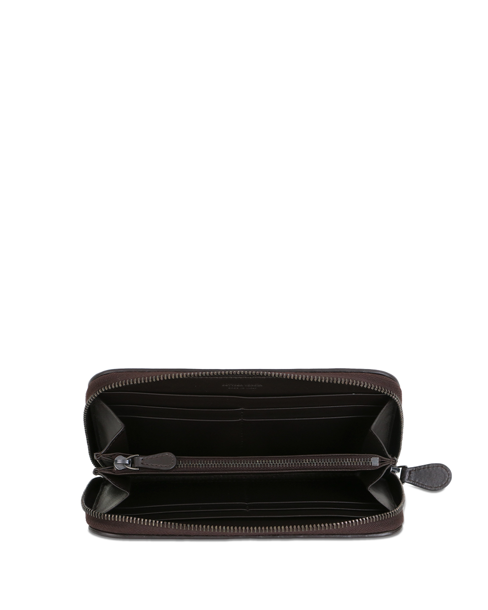 Woven Leather Long Wallet 1