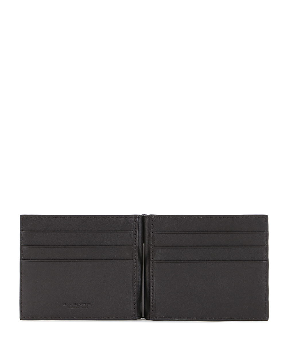 Woven leather wallet 1