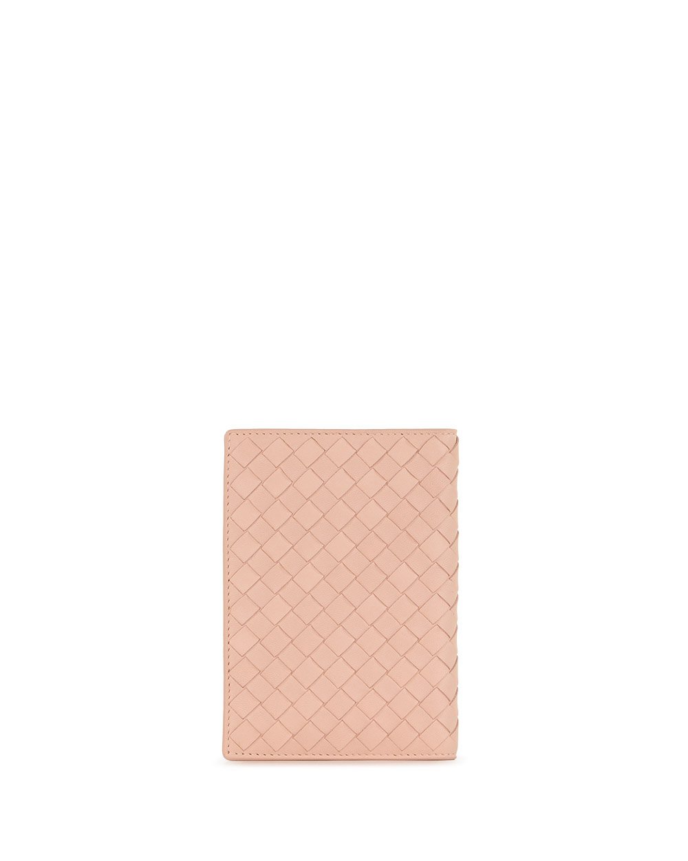 Braided Lamb Leather Passport Case 2
