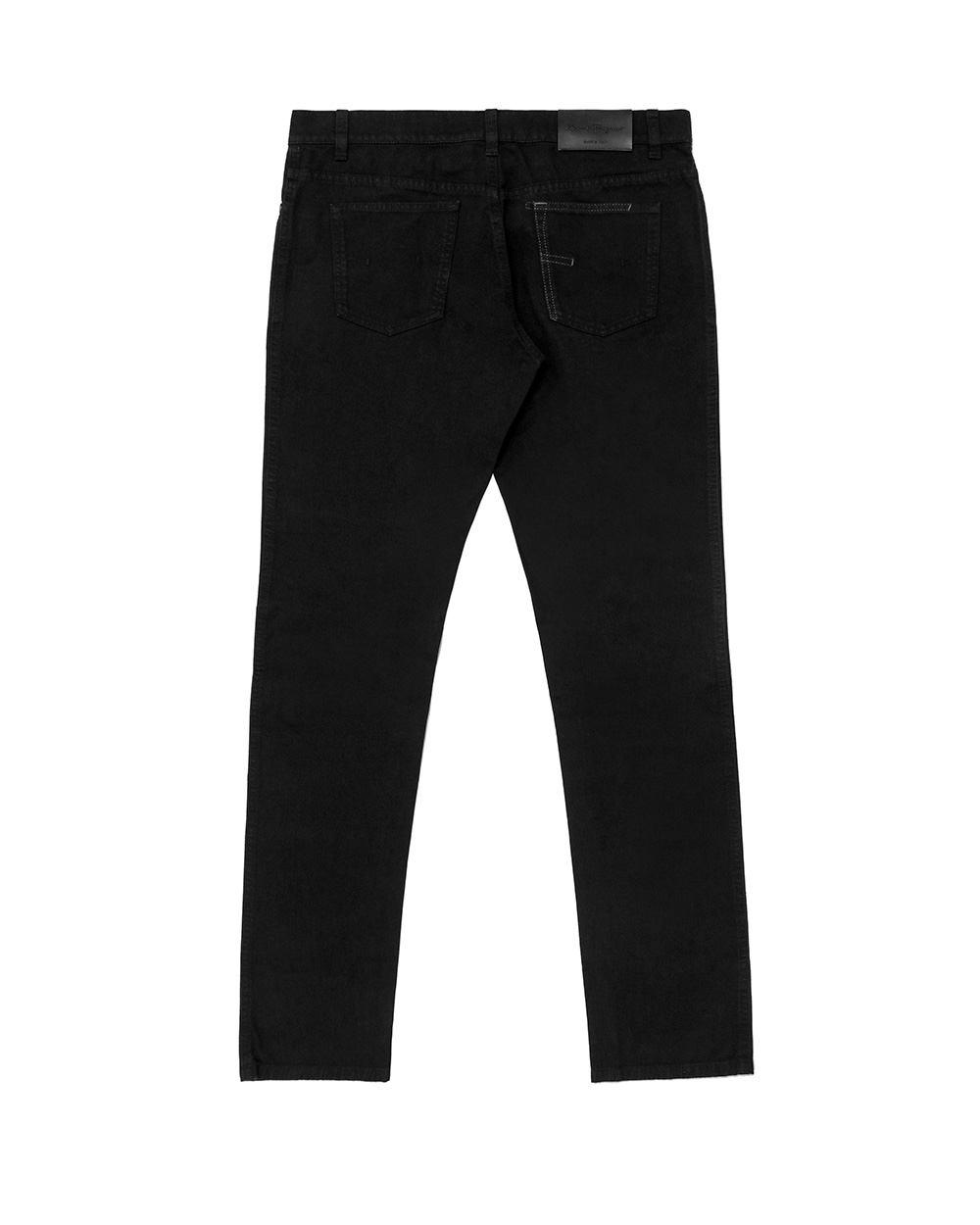 Straight Cotton Jeans 1