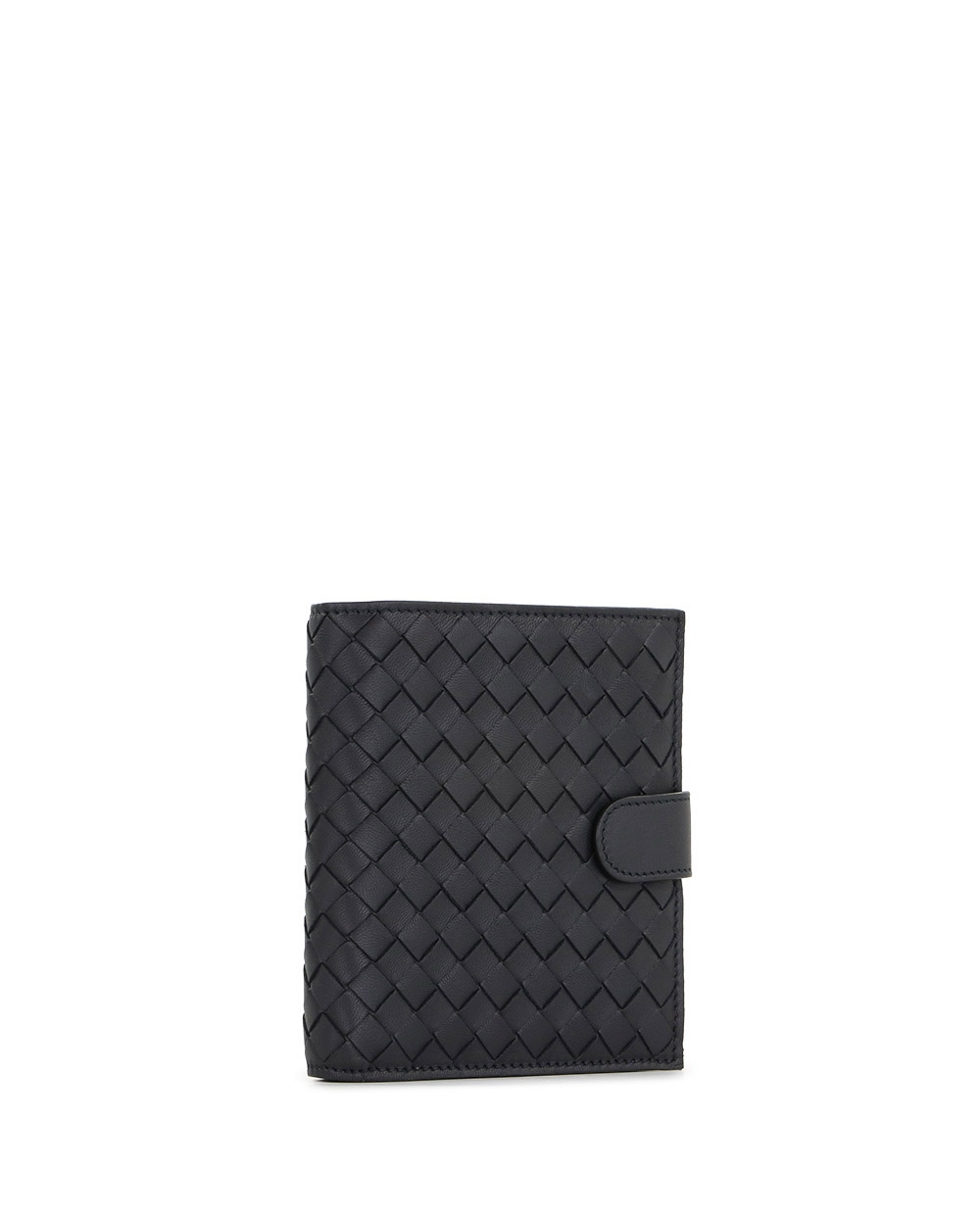 Woven Leather Short Wallet 4