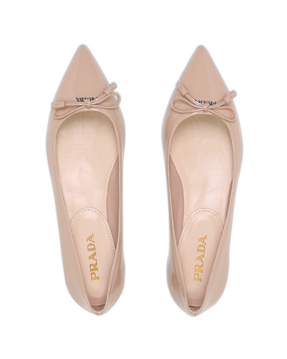 Leather Bow Flat Shoes 3