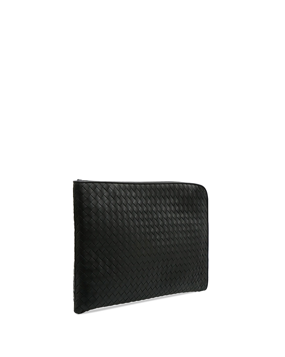 Woven Leather Clutch 1