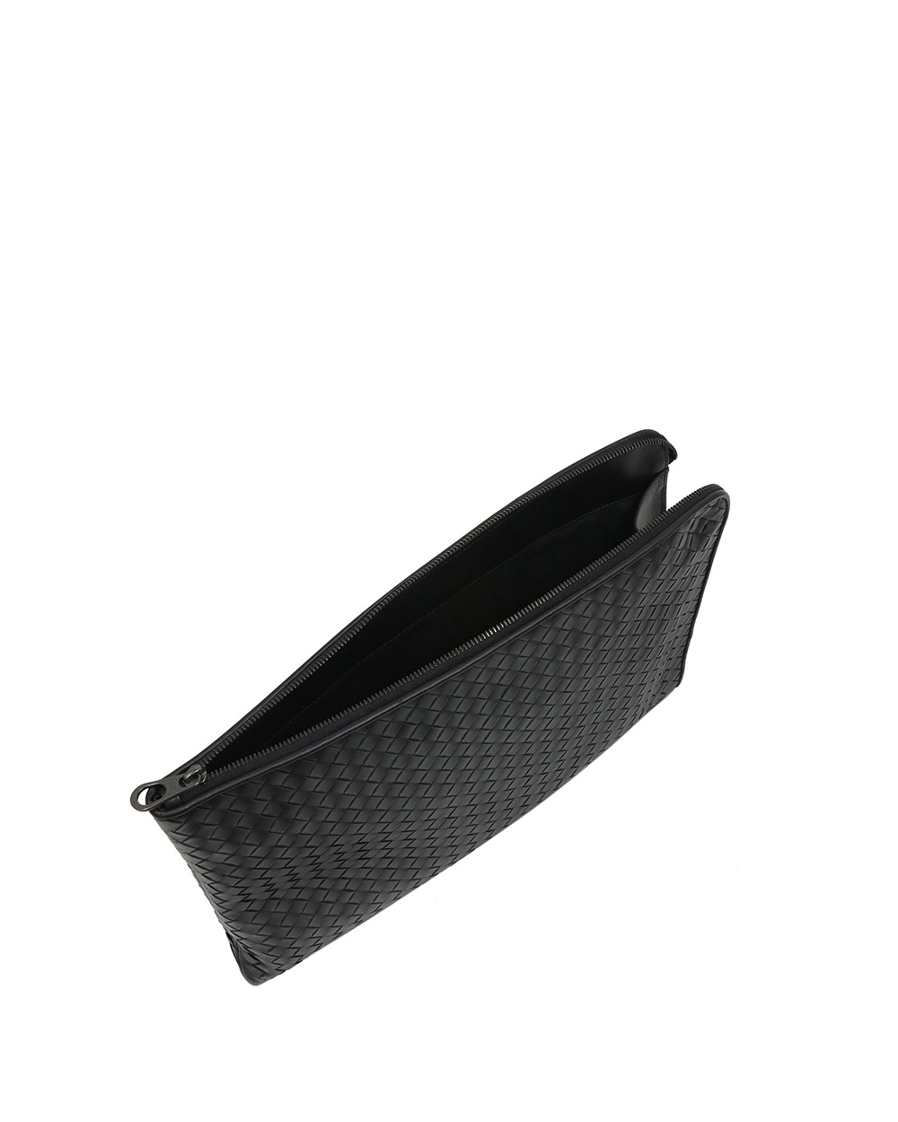 Woven Leather Clutch 3