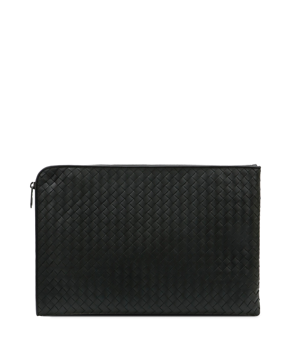 Woven leather Clutch 2