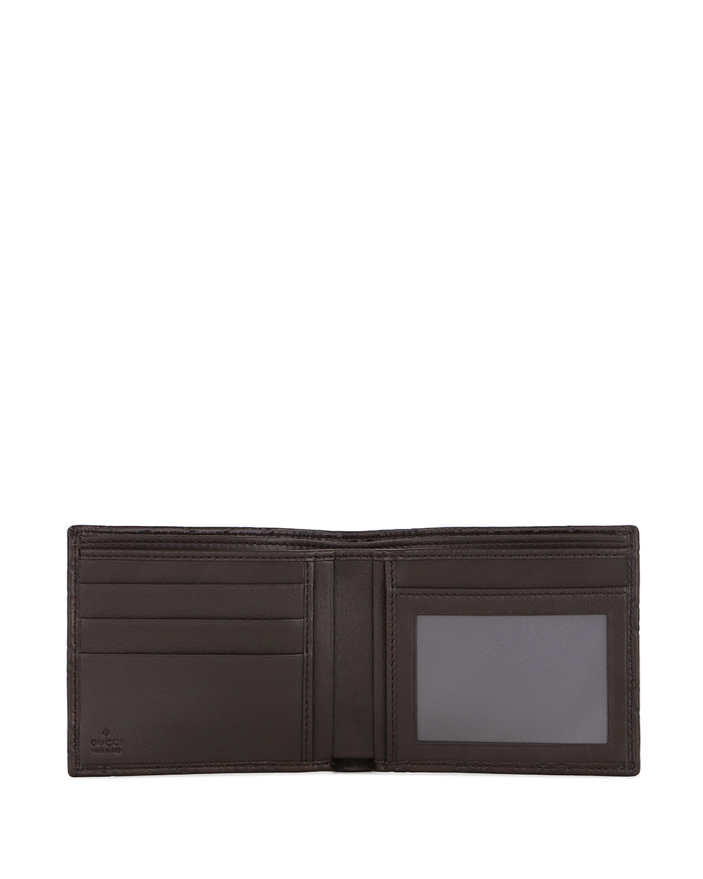 Calf Leather Short Wallet