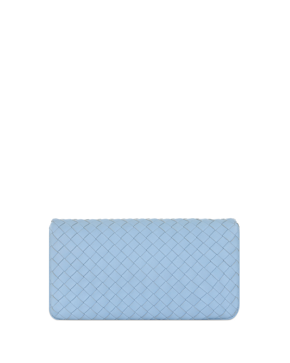 Woven Lamb Leather Clutch 1