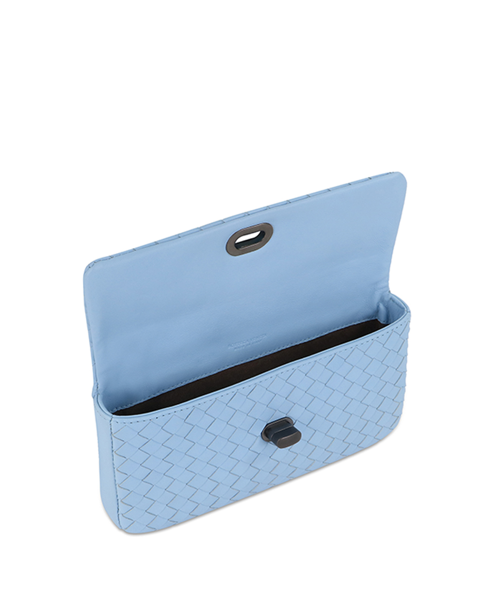Woven Lamb Leather Clutch 3