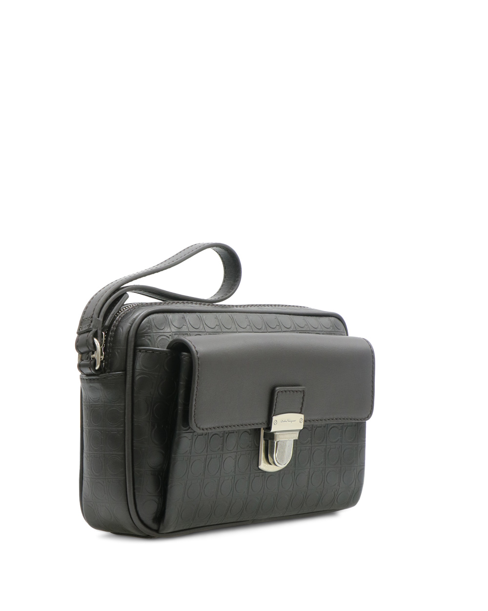 Embossed Leather Travel Bag 1