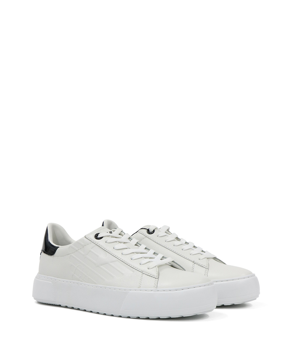 EA7 Inclining Stripes Sneakers 1
