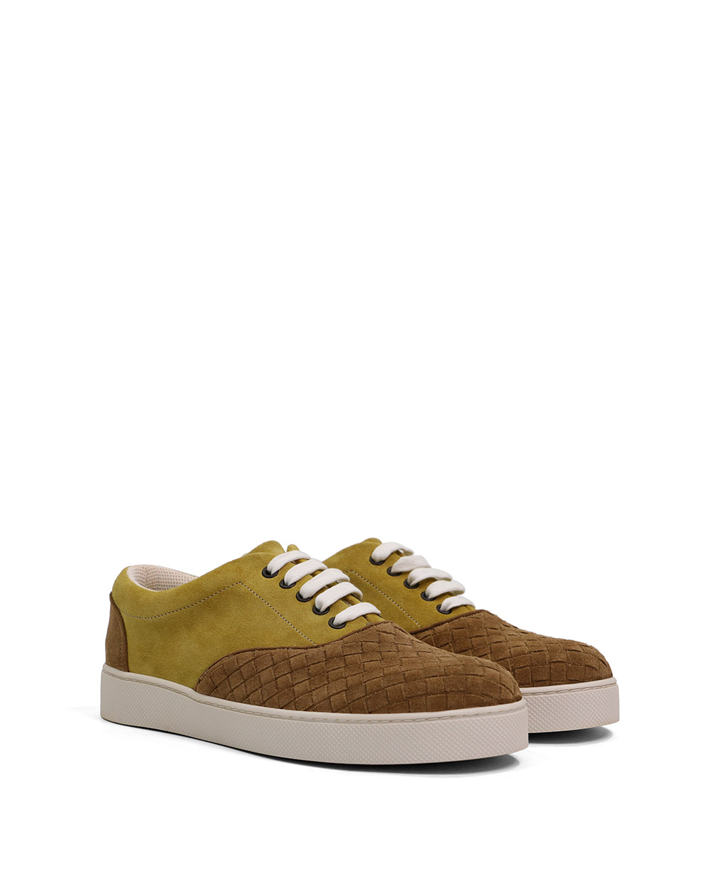 Woven Suede Sneakers 1