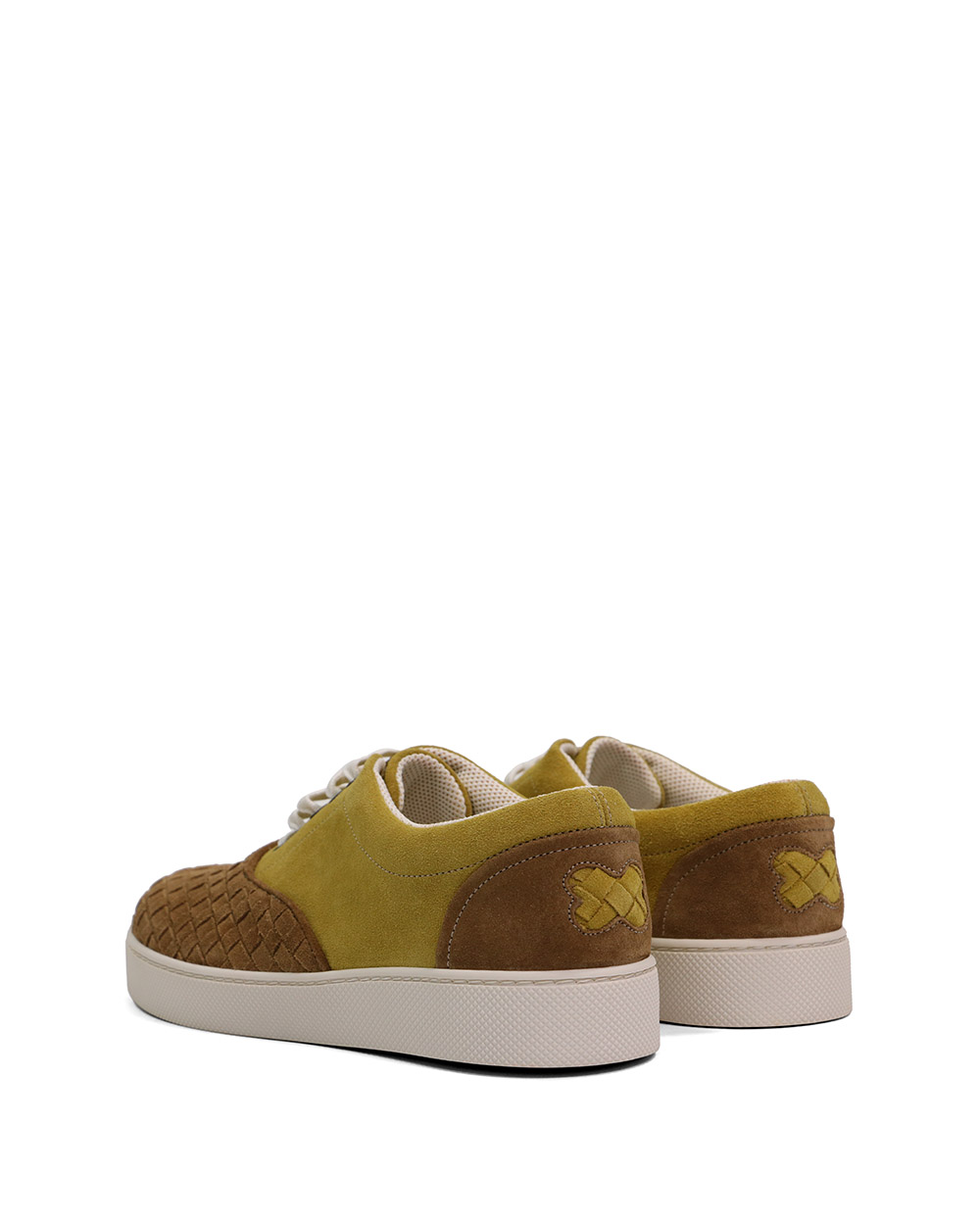 Woven Suede Sneakers 2