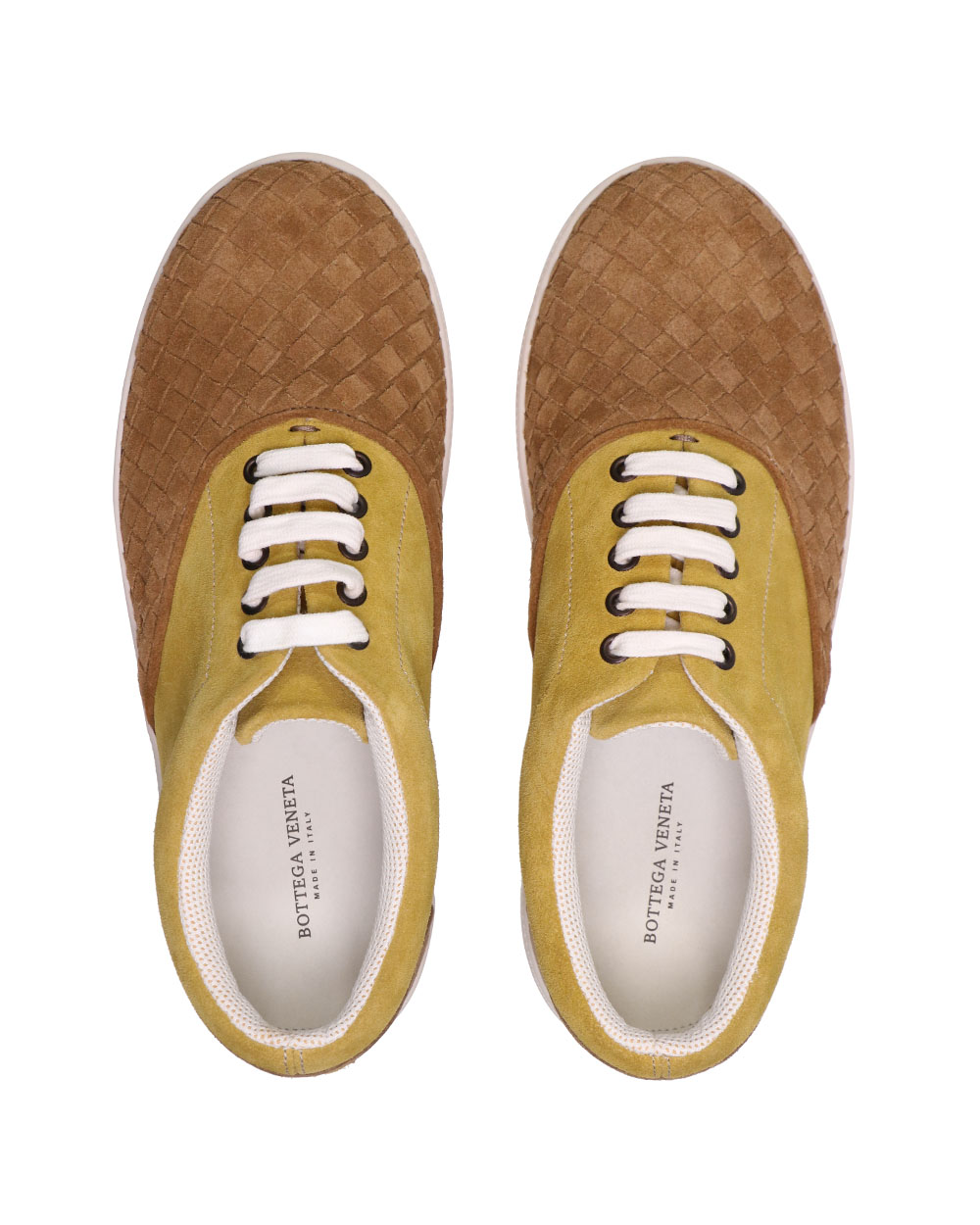 Woven Suede Sneakers 3