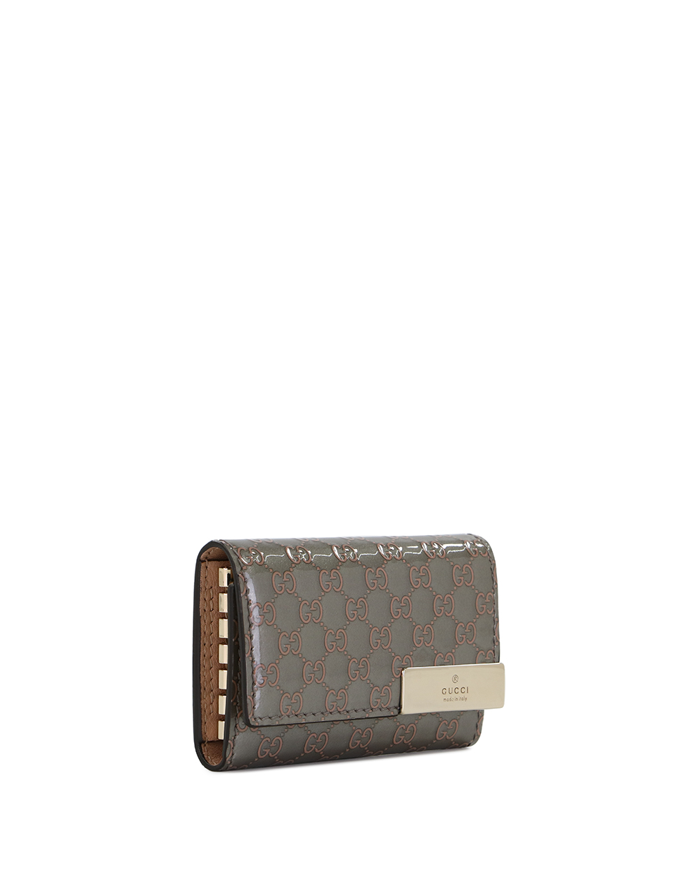 Microguccissima 6-hooked Leather Key Case 3