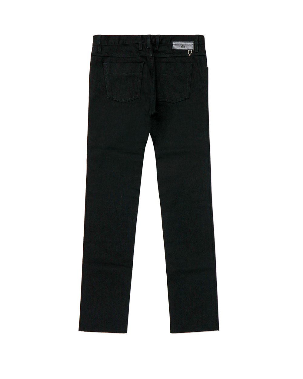 Straight Stretch Cotton Jeans 1