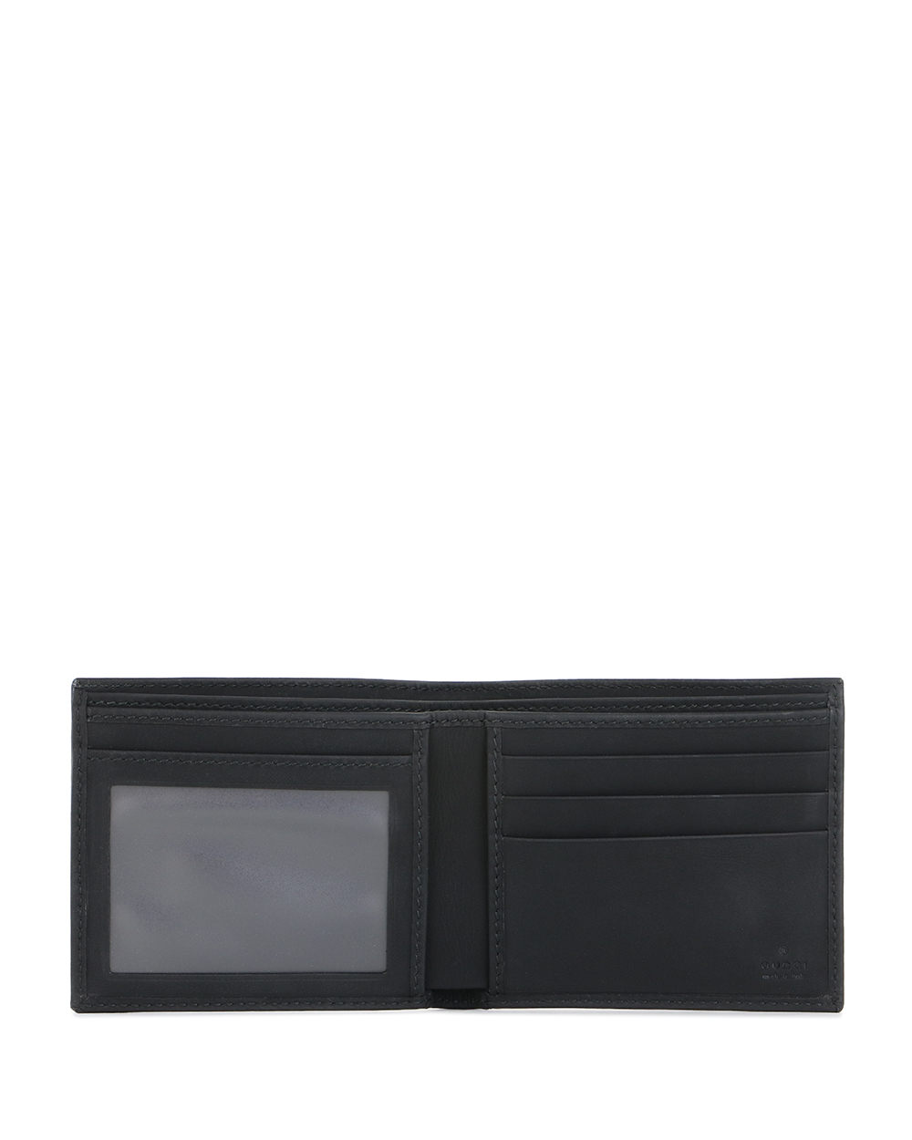 Double G 2-Fold Leather Wallet