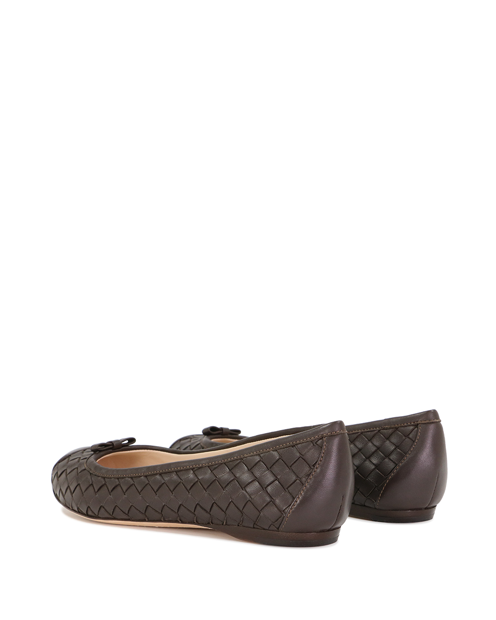 Leather Woven Flats 2