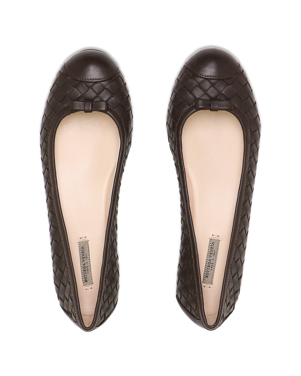 Leather Woven Flats 3