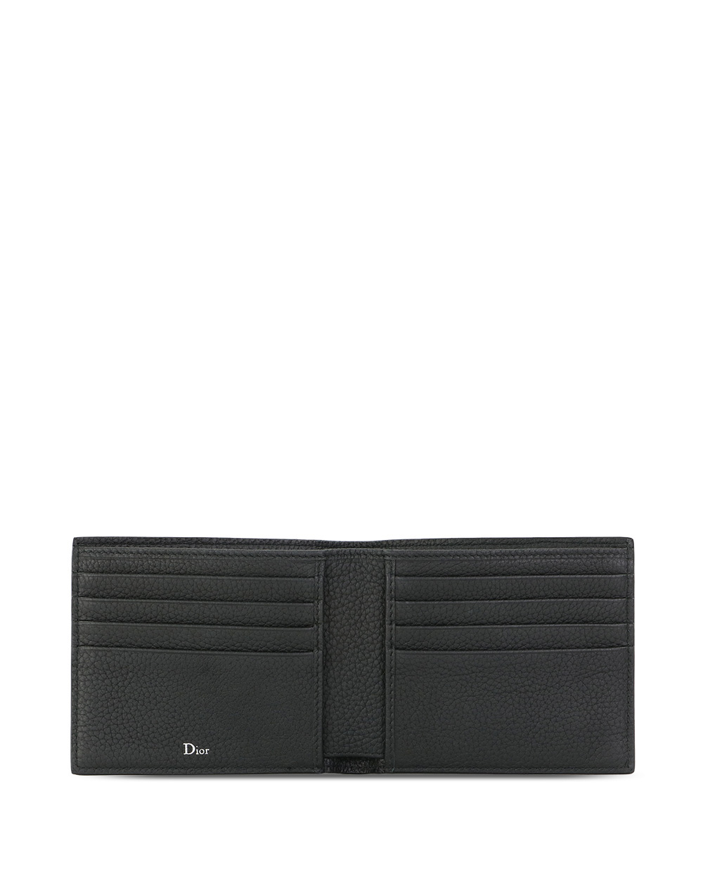 Grained Leather Wallet 1