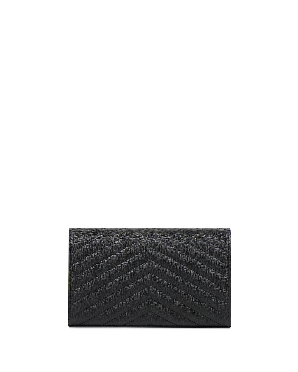 Envelope Quilted Textured-Leather Shoulder Bag 2