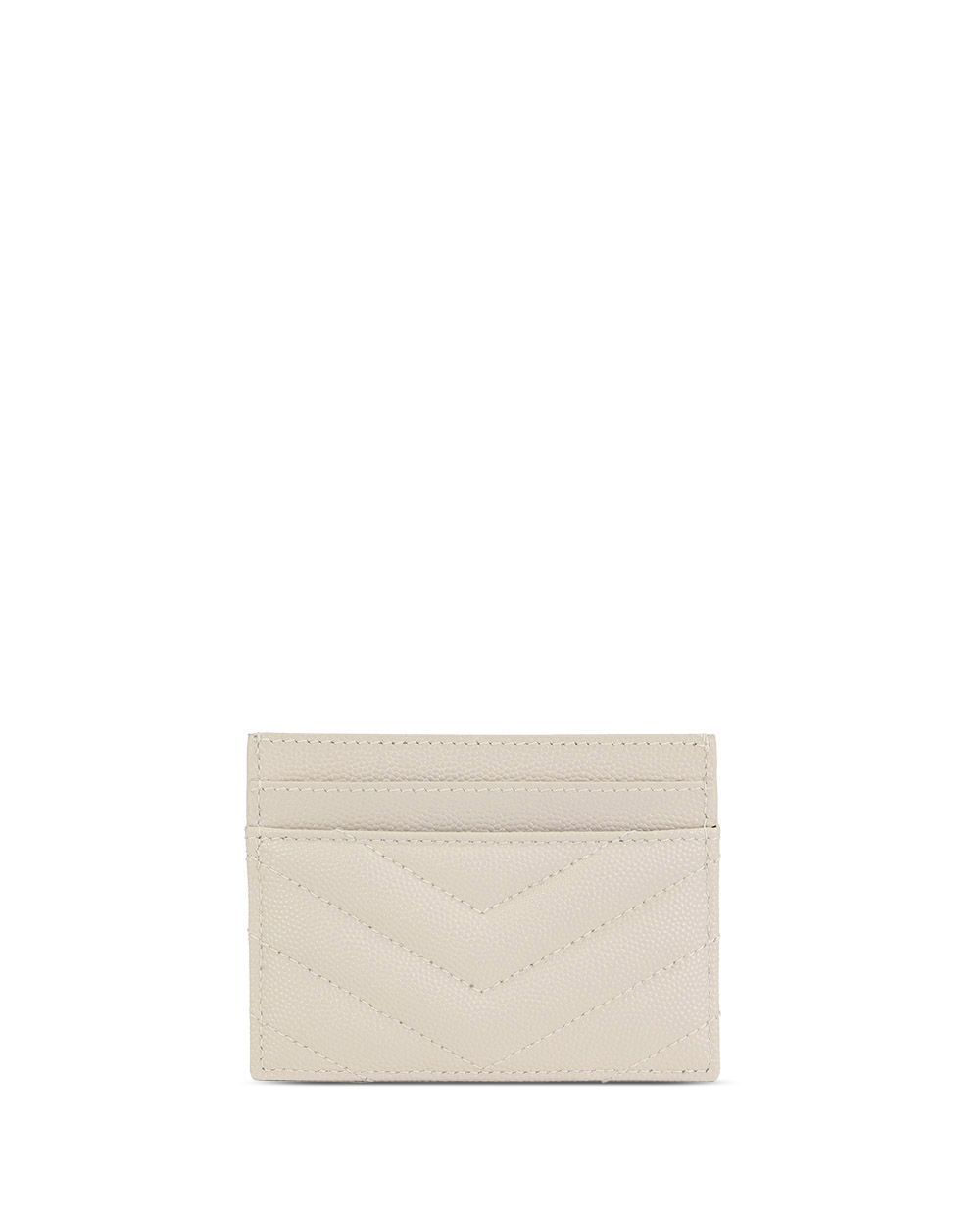 Monogram Quilted Grained Leather Cardholder 2