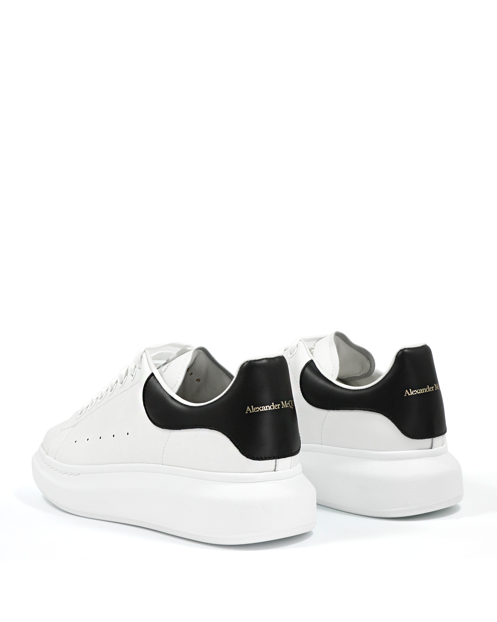 Oversized Leather Sneakers 2