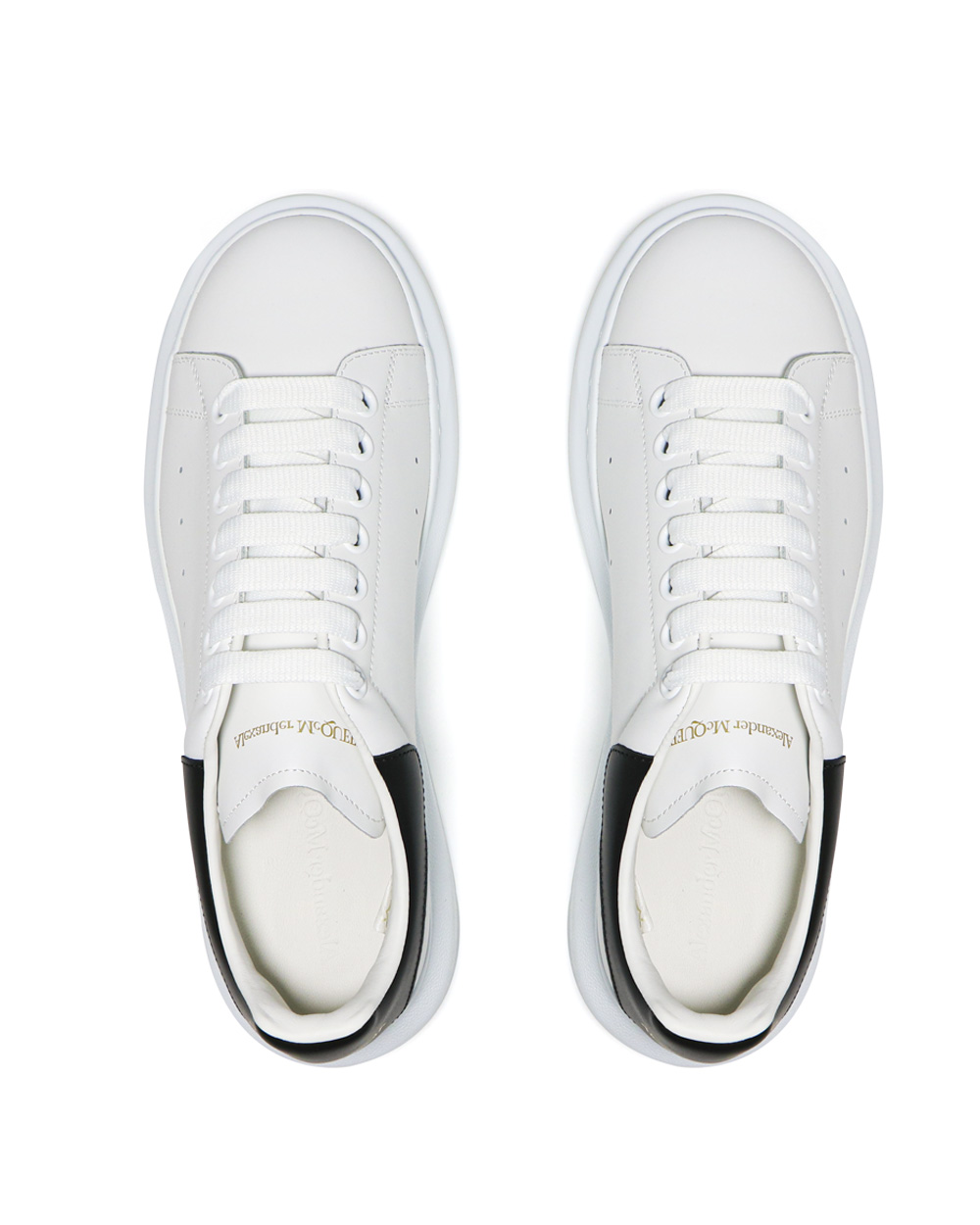 Oversized Leather Sneakers 3