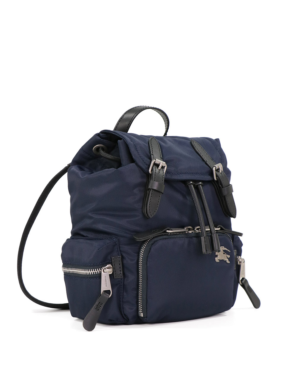 The Rucksack Cotton And Nylon Small Cross-body Military Backpack 1