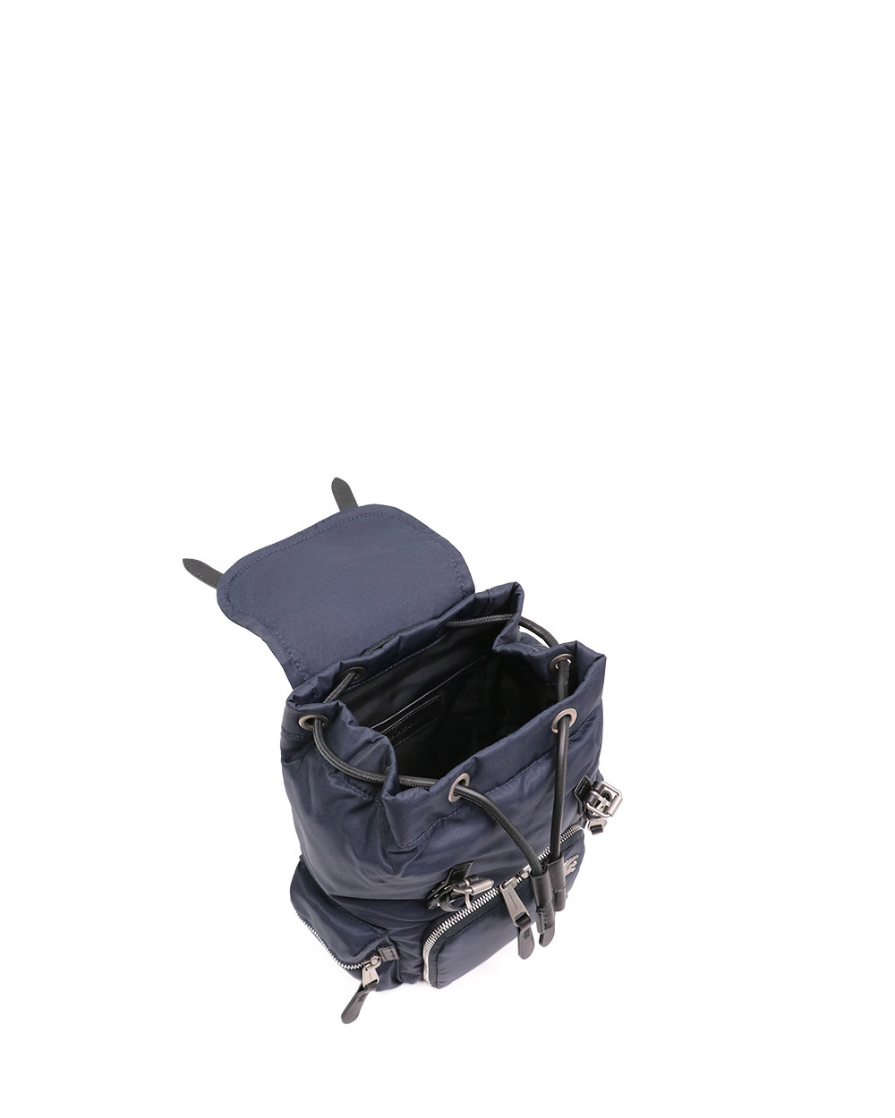 The Rucksack Cotton And Nylon Small Cross-body Military Backpack 4
