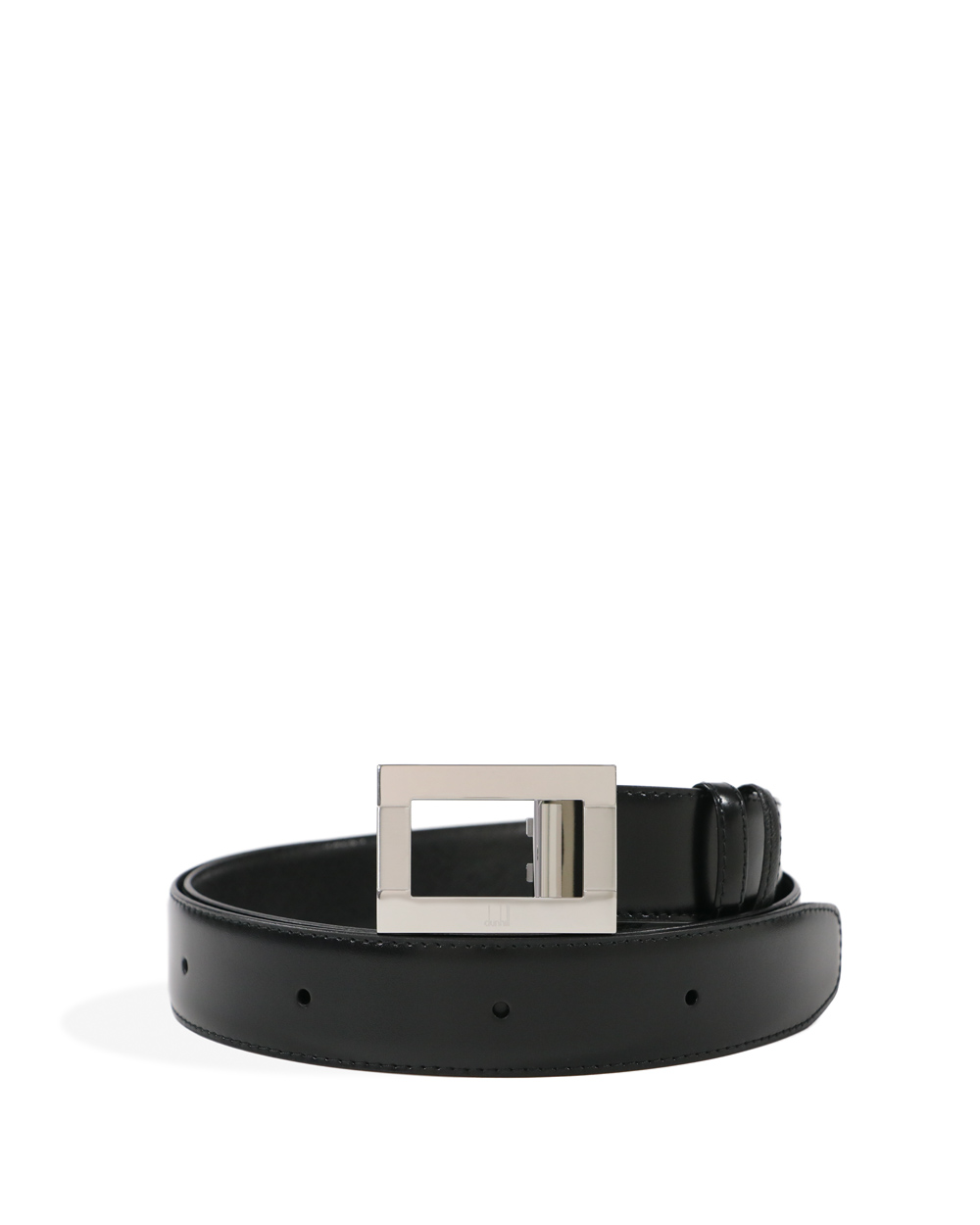 Silver Buckle Leather Belt