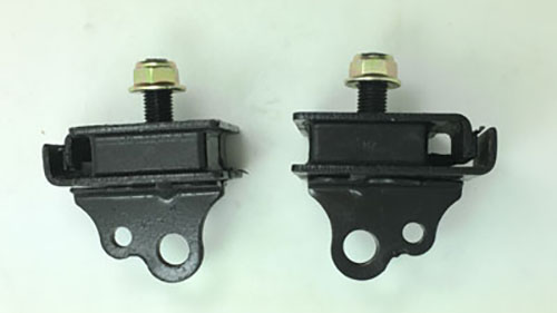 ONE PAIR RHINO 660 TOP ENGINE MOUNT RUBBER DAMPER For RHINO